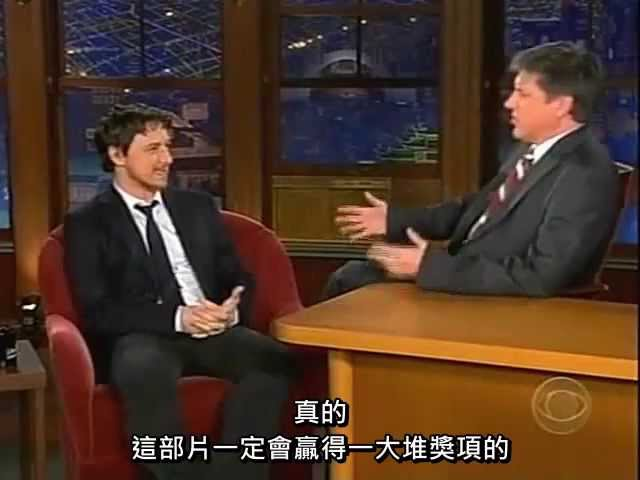 [????] ??????????! (James McAvoy on the Late Late Show)