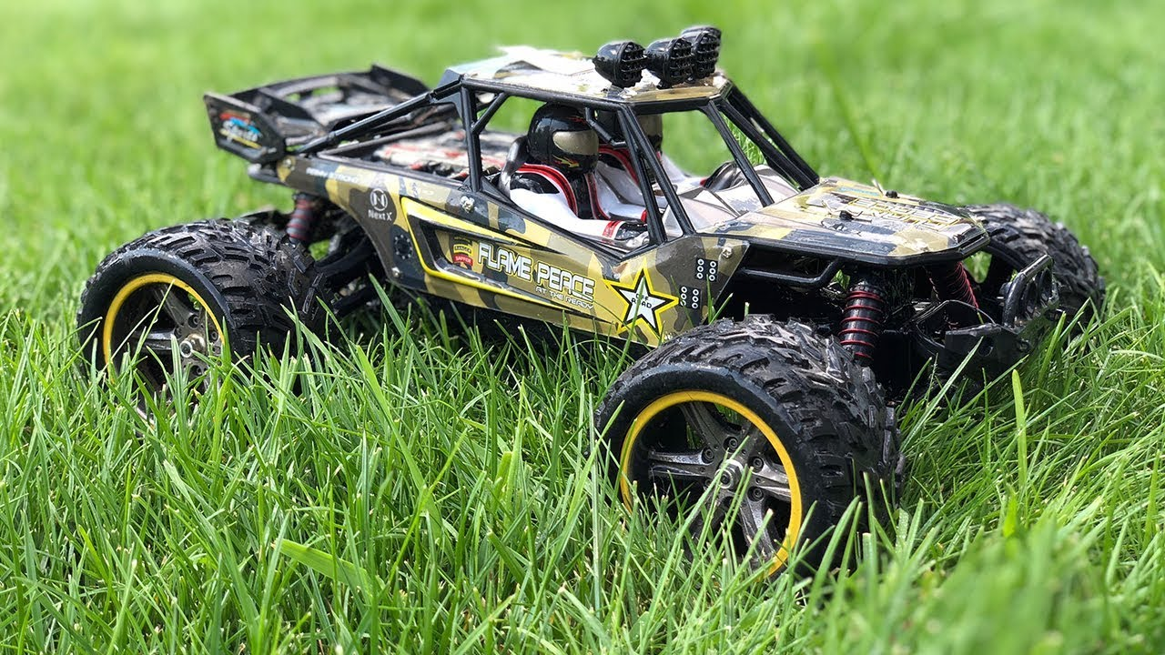 GPTOYS S916 RC Car 26Mph Remote Control Truck 1/12 Scale 2.4 GHz 2WD Waterproof Off-road Monster Car