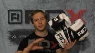 Authentic RDX Leather Ultra Gold Boxing Gloves Review