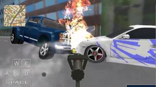 Fire City Truck Rescue Driving Simulator Game Walkthrough