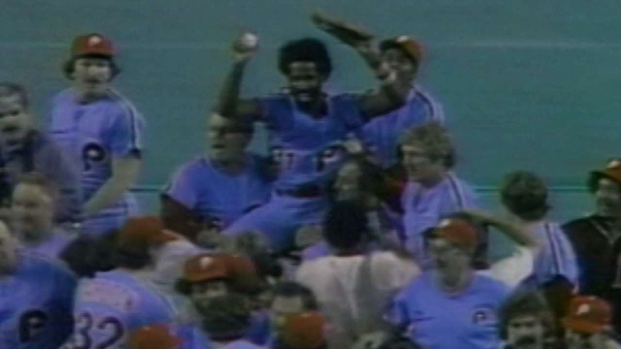 1980 NLCS Gm5 Phillies Advance To The World Series