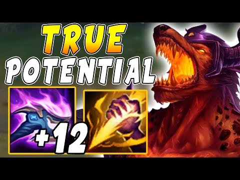 INSANE +12 Q Nasus Buffs with MOST Efficient Jungle Pathing = True Potential Unlocked!