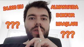 ALMANYA'DA DOKTOR MAAŞLARI!!! | 24.000 EURO KİM KAZANIYOR?