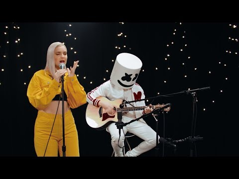 Marshmello & Anne-Marie – FRIENDS (Acoustic Video) *OFFICIAL FRIENDZONE ANTHEM*