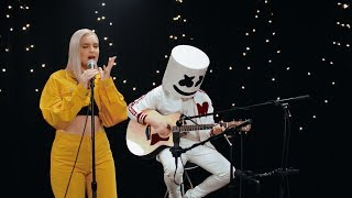 Marshmello & Anne-Marie - FRIENDS (Acoustic Video) *OFFICIAL FRIENDZONE ANTHEM* thumbnail
