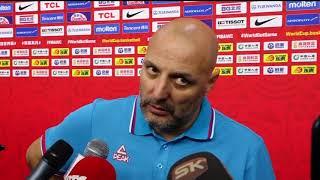 Saša Đorđević Nakon Poraza Srbije od Argentine u Četvrtfinalu Mundobasketa   SPORT KLUB Košarka