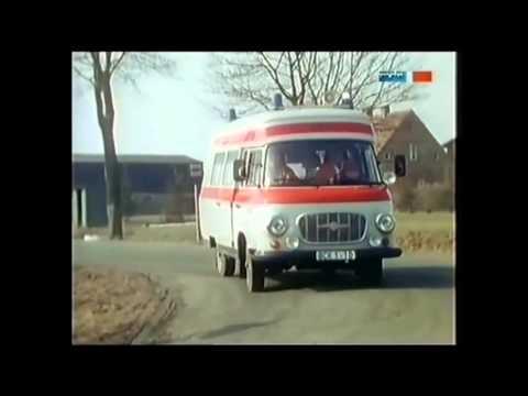 Barkas B1000 Original Krankenwagen KB  SMH