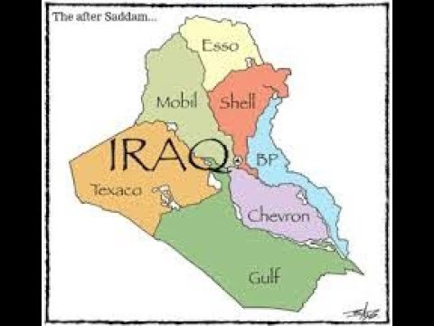 Digging For Black Gold  Vast oil deposits in Iraq attract corporations from around the globe