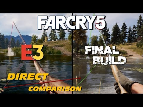 Far Cry 5 - E3 vs Retail   Direct Comparison