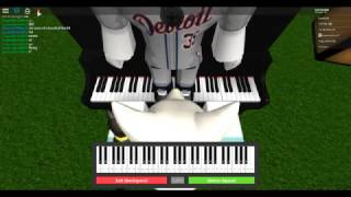 How to Play His Theme ~ Roblox Piano