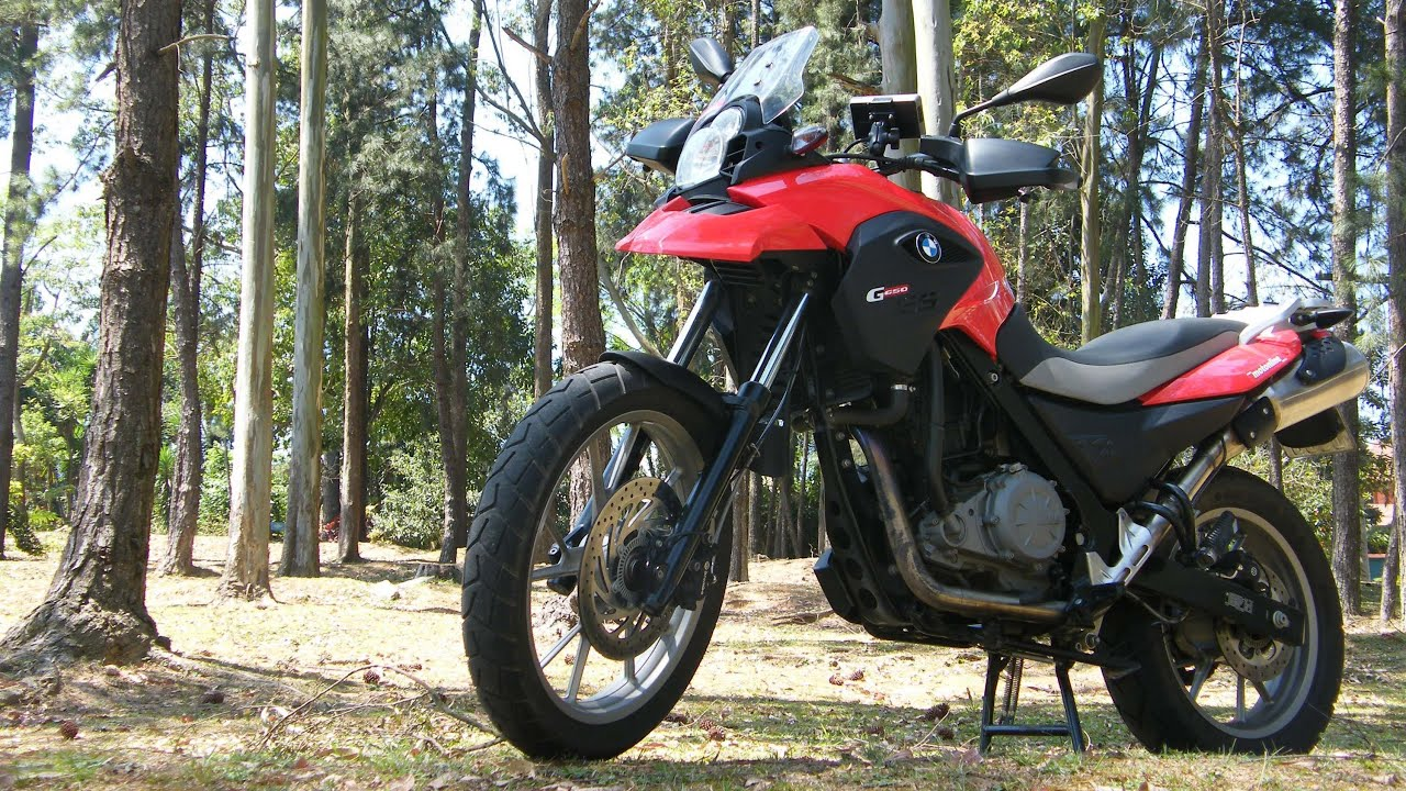Teste Da Bmw G 650 Gs 2012 Youtube