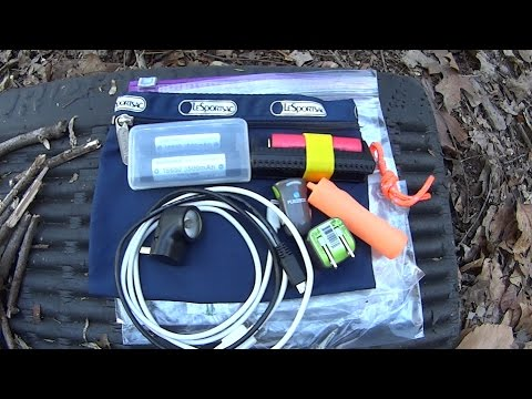 Backcountry  Lithium ion power solutions. 16650 battery explained.