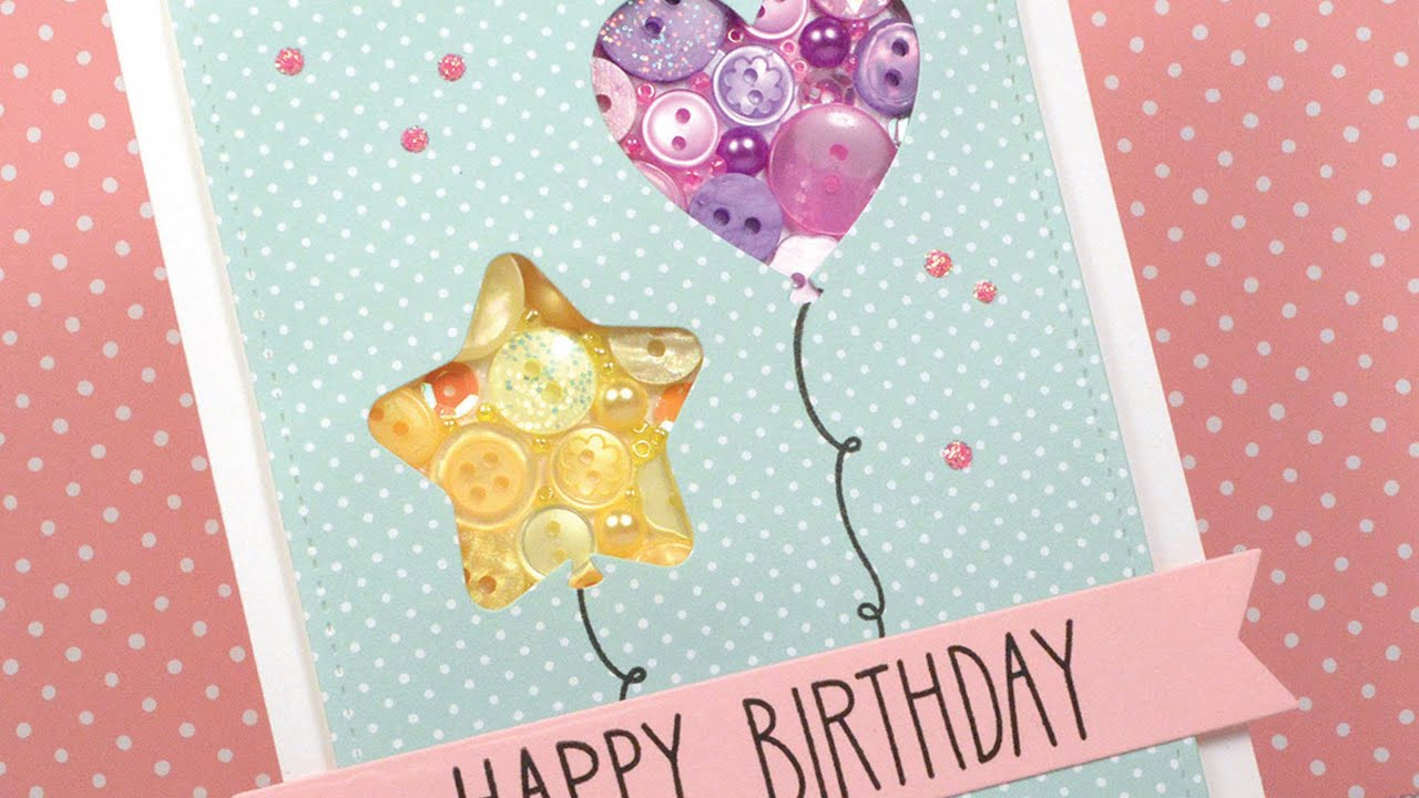 How to make a birthday card YouTube – A Birthday Card