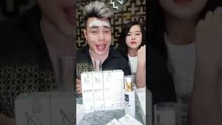 DETOX BỌT BIỂN 2019 A Cosmetic - Phương Anh cùng Lê Dương Bảo Lâm Livestream ra mắt