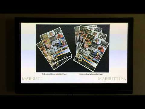 Inkjet Printing Masterclass: Lesson 3 Pt 1 - Pro Photo Inkjet Paper Essentials Part 1