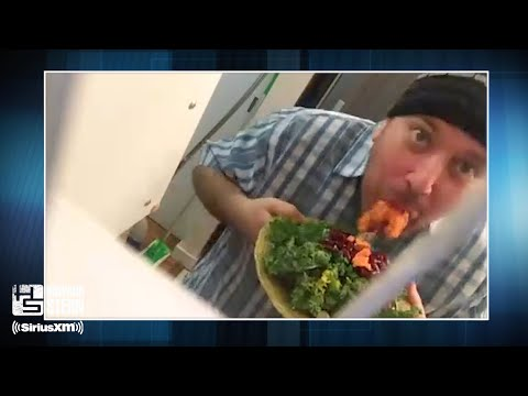 Benjy Bronk Chews Up Raw Potatoes and Spits Them Out While Preparing Dinner