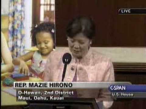 Rep. Mazie Hirono on the Head Start Act