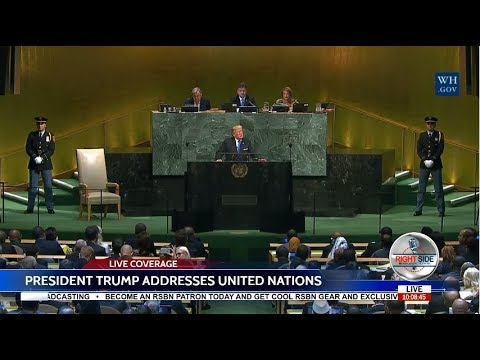 LIVE: PRESIDENT TRUMP SPEECH TO UN GENERAL ASSEMBLY 9/18/17 LIVE STREAM