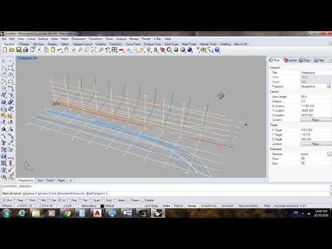 Tạo mô hình 3D tàu thủy bằng phần mềm Rhino