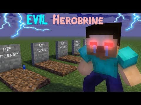 MONSTER SCHOOL : HEROBRINE BECAME EVIL - RIP MONSTER SCHOOL