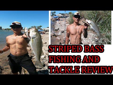 ARIZONA STRIPED BASS FISHING 'TACKLE BOX REVIEW'
