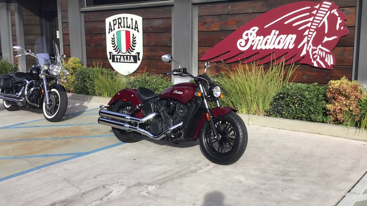 2020 Indian Scout Sixty Abs In Burgundy Metallic For Sale In Orange County Ca Youtube [ 720 x 1280 Pixel ]