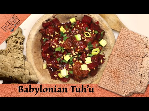 A 4000 Year Old Recipe for the Babylonian New Year