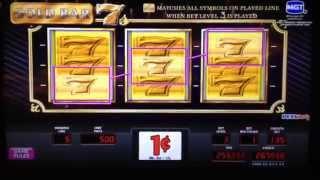 Gold Bar 7s Slot Machine