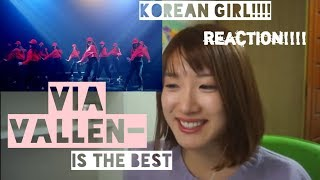 KOREAN girl!!!! Via Vallen- meraih bintang(REACTION)
