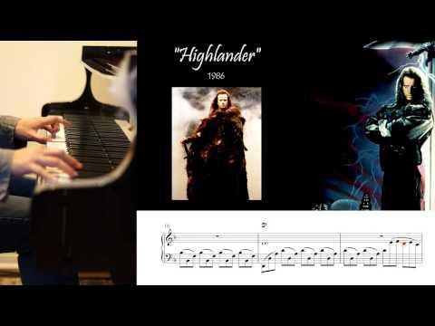 Highlander - Michael Kamen - Piano Cover