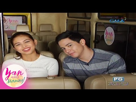 Yan Ang Morning!: Biyahe-serye with Maine Mendoza and Alden Richards