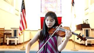 Vivaldi Violin Concerto in G major 1st mov - Jennifer Jeon