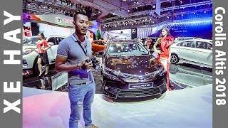 |VMS 2017| Soi chi tiết Toyota Corolla Altis 2018 tại Việt Nam