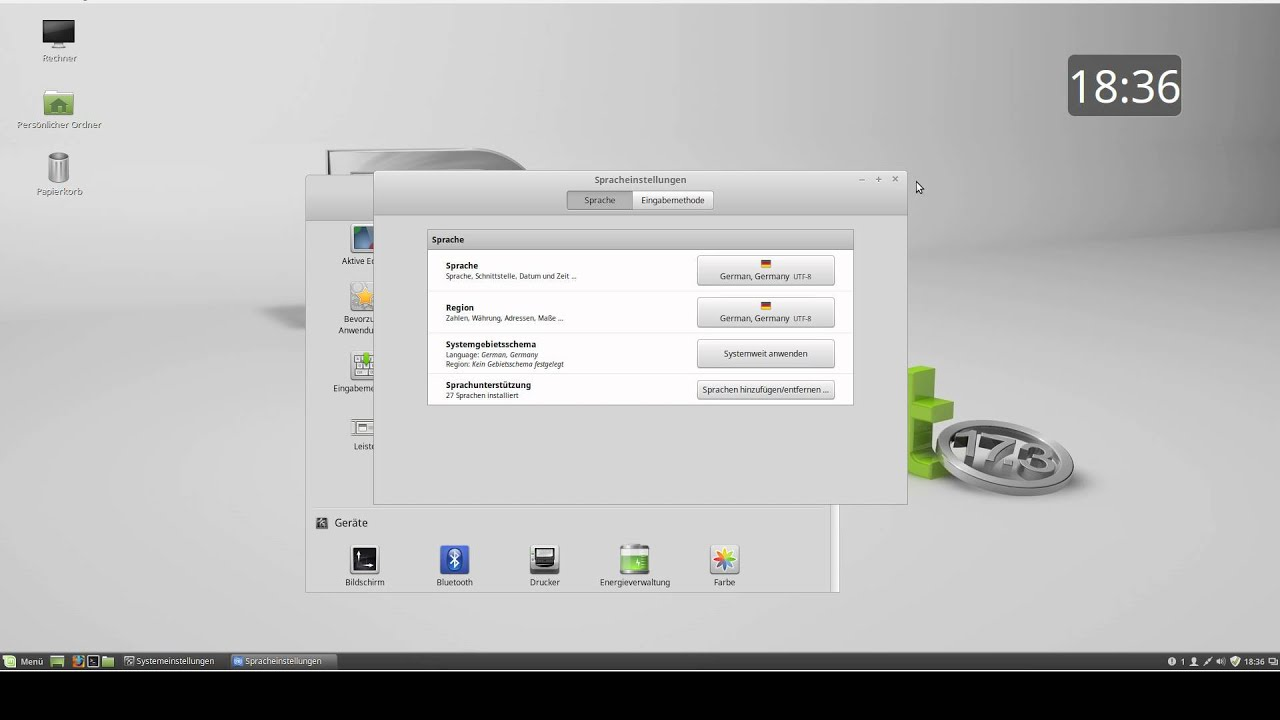 Tuxview Linux Mint 17.3 Cinnamon [German] - YouTube