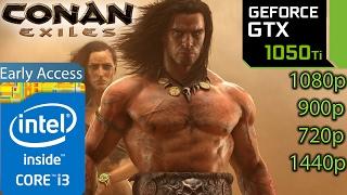 Conan Exiles: GTX 1050 ti - i3 6100 - 1080p - 900p - 720p - 1440p - Early Access