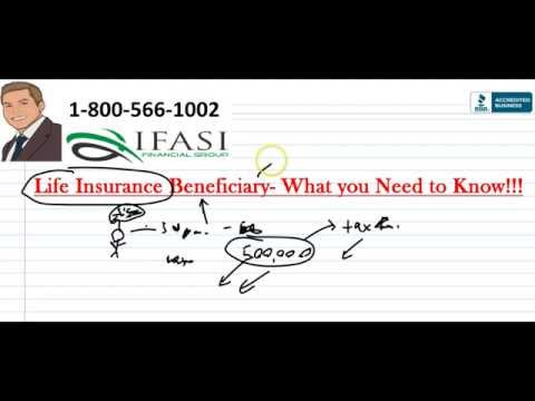 Life Insurance Beneficiary - Life Insurance Beneficiaries Ex