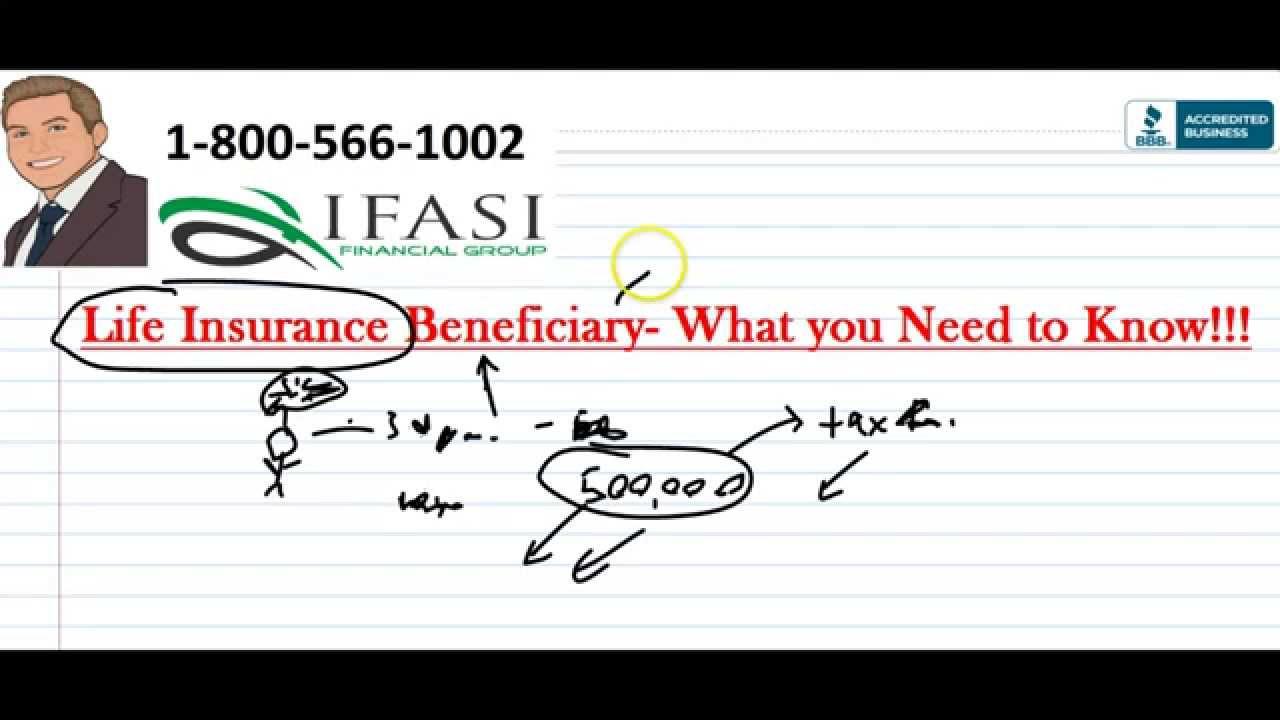 Life Insurance Beneficiary - Life Insurance Beneficiaries ...