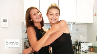 Gigi & Bella Hadid Before They Were Stars | Real Housewives Of Beverly Hills | Bravo