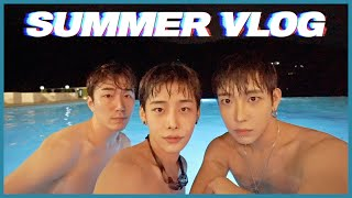 [ENG sub] 서울라이트 3인 완전체 여름 휴가 브…