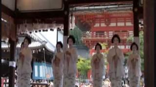 花傘巡行・舞妓の京舞奉納.wmv thumbnail