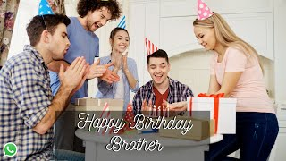 Funny Birthday Wishes For Brother WhatsApp Status