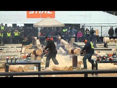 Logger Skills Mystery Creek 2013 Hotsaw v3