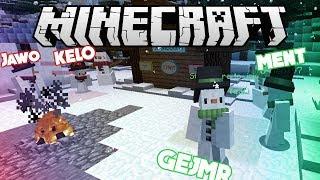 [GEJMR] Souboj sněhuláků! ☃️ Minecraft Minihra