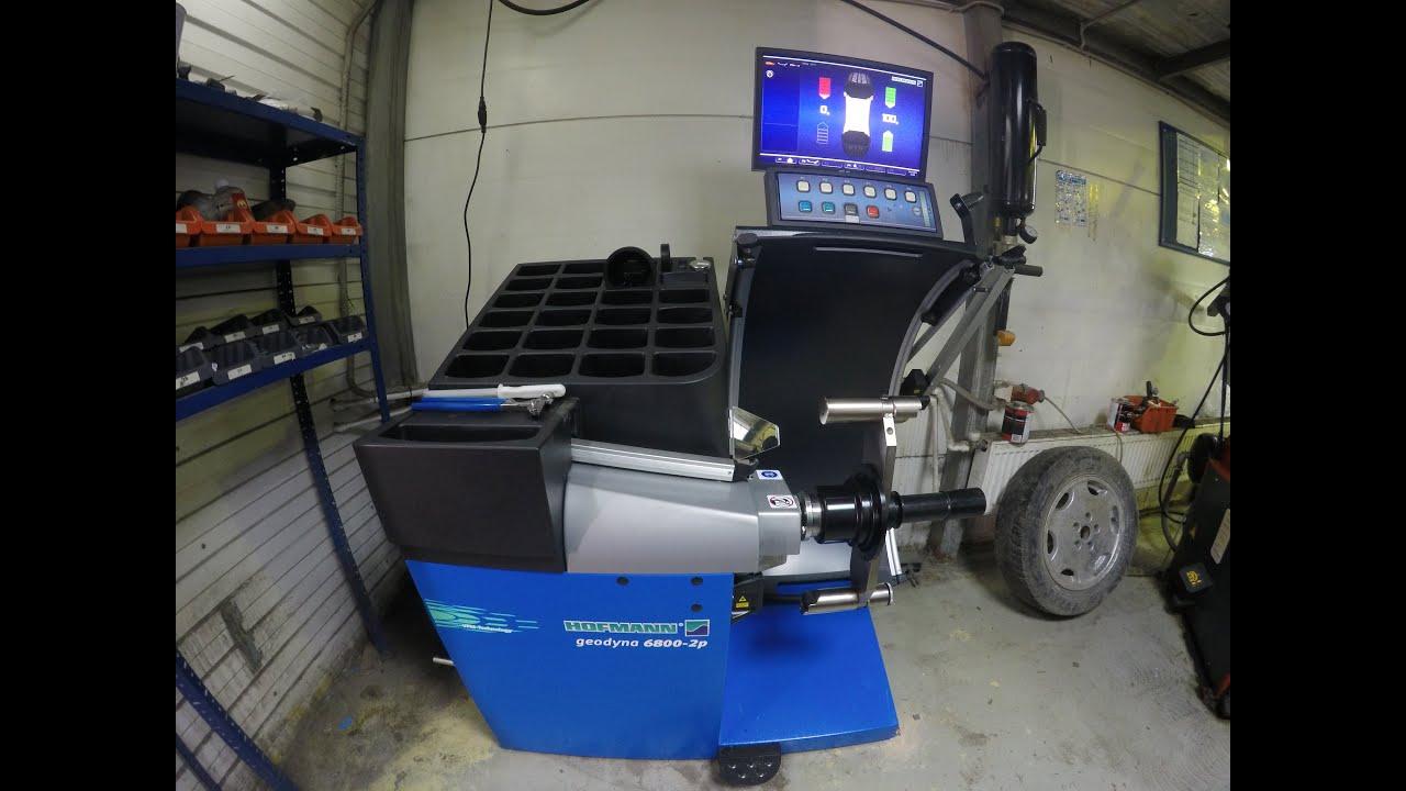 hofmann geodyna 6800 2p 2 wheel rh youtube com