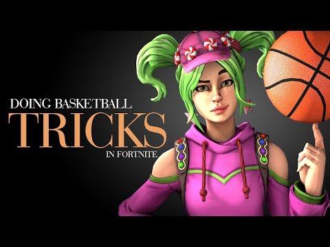 Basketball Trick Shots In Fortnite