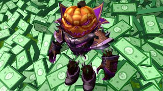 I got the new new Pumpkingeist package in roblox :D