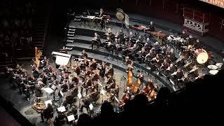 Jurassic Park live orchestra @ Royal Albert Hall 29/09/18 - closing credits
