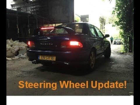 Subaru Impreza Steering Wheel Removal + Install DIY