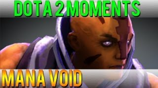One of DoubleClickDota2's most viewed videos: Dota 2 Moments - Mana Void