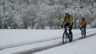Bikejugend Reudern Schneetraining